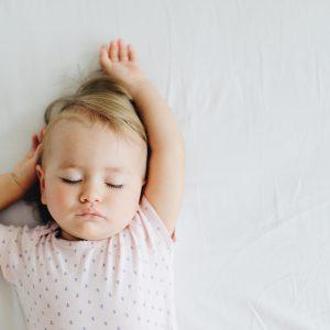 Baby laten slapen