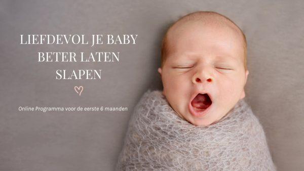 Liefdevol je baby laten slapen